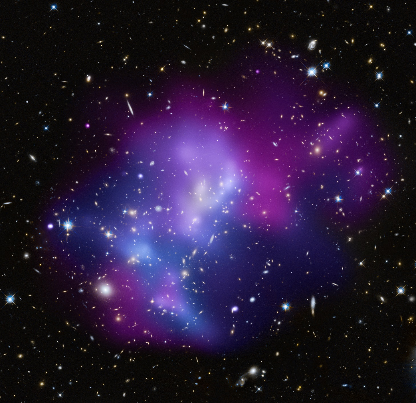 Galaxy Cluster Image